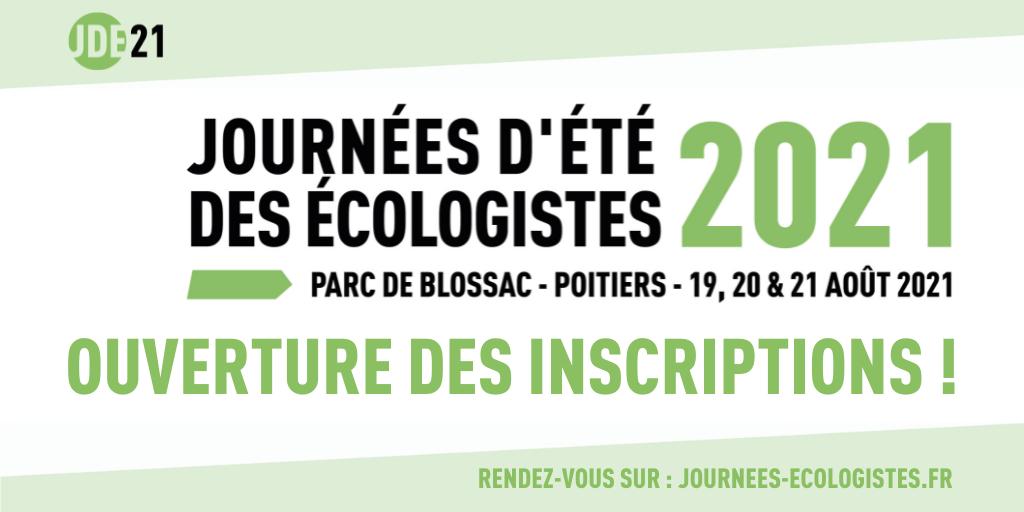 Présidentielles 2022 : EELV ouvre ses inscriptions aux journées d'été de Poitiers F3adb4733e9eb37174d84db191c09d71b0f2799f6f6da9ad57896bc8c6b46098